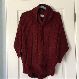 Super cute, casual, 3/4 sleeves, longer sweater